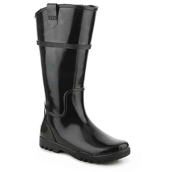 00dc723d9a1 SPERRY TOP-SIDER NELLIE KATE RAIN BOOT BLACK. M 5ba822fcbaebf6561fc1eed5